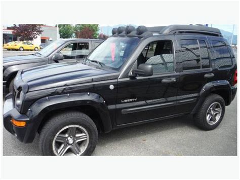 jeep renegade 2004 2004 jeep liberty renegade suv 4x4 outside