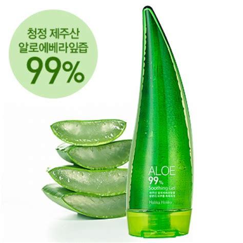 Holika Holika Aloe Vera 99 Soothing Gel 55ml Small Size box korea mini holika holika aloe 99 soothing gel 55ml best price and fast