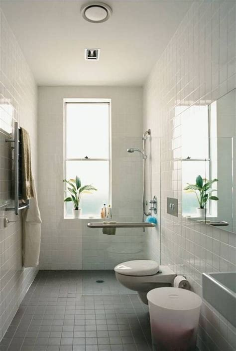 small bathroom window ideas small bathroom 8 stunning narrow bathroom design ideas home design trends 2016 throughout