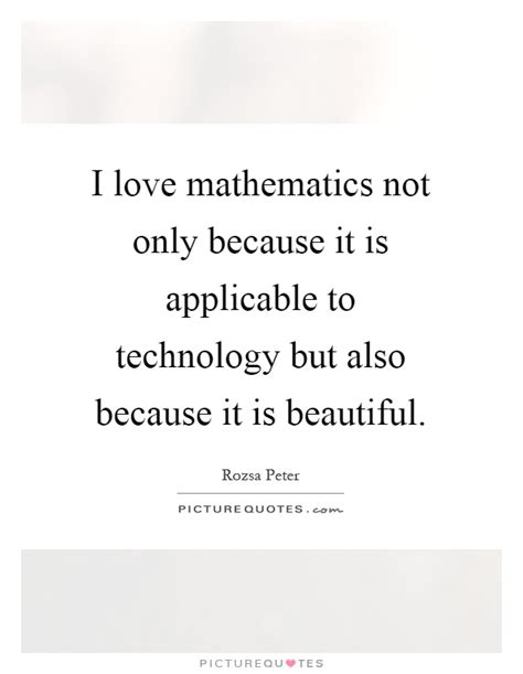 Because Is Not Pretty by I Mathematics Not Only Because It Is Applicable To