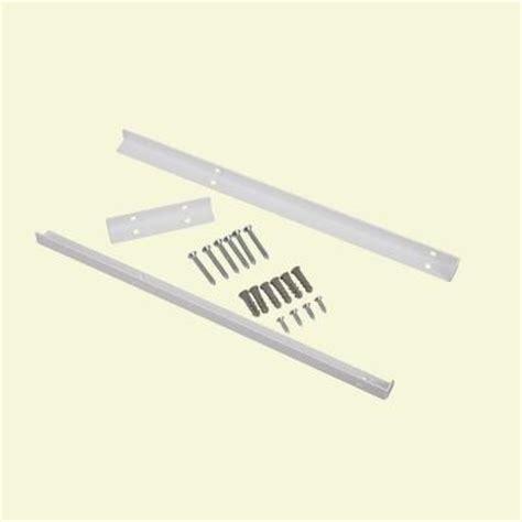 Closetmaid Shelf Pins Closetmaid Selectives 14 In White Metal Shelf Support Kit