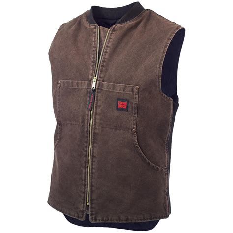 Work Online From Home Canada Free - tough duck insulated quilt lined work vest 424090 vests at sportsman s guide