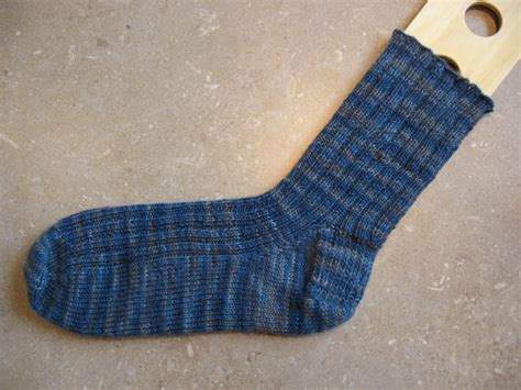 knit up knits toe up sock pattern invisible sided
