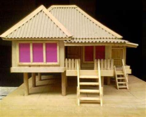 cara membuat rumah adat minang dari kardus cara membuat rumah adat sumatera barat republika rss