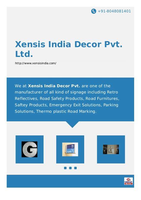 xensis india decor pvt ltd