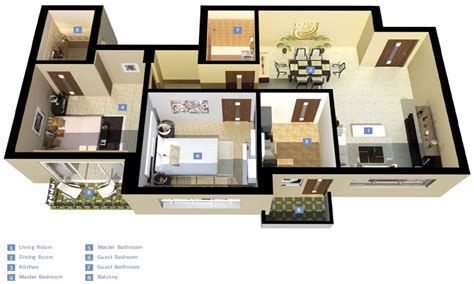 3d 3 bedroom house plans 3d 3 bedroom houses exterior 3d 3 bedroom house plans