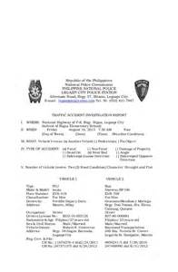Incident Accident Report Form Template investigation report