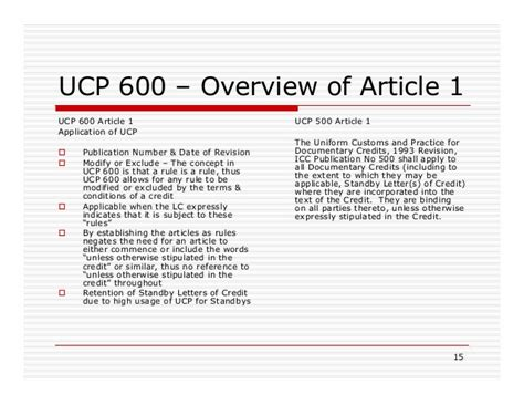 cancellation of letter of credit ucp 600 dc ucp 600 for lc