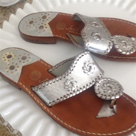 Berties Jackie O Silver Sandals by 61 Rogers Shoes Rogers Classic Navajo