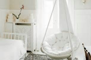 Free up your floor space using hanging chairs terrys