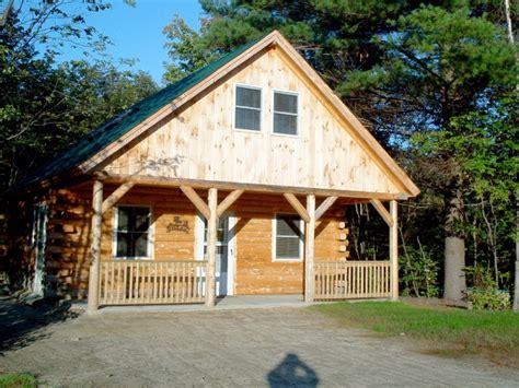 Handcrafted Log Cabins - handcrafted log cabin in bretton woods mtn area