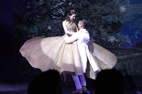 Okada Princess sm megamall warms up for with frozen enchanting princess themes interaksyon