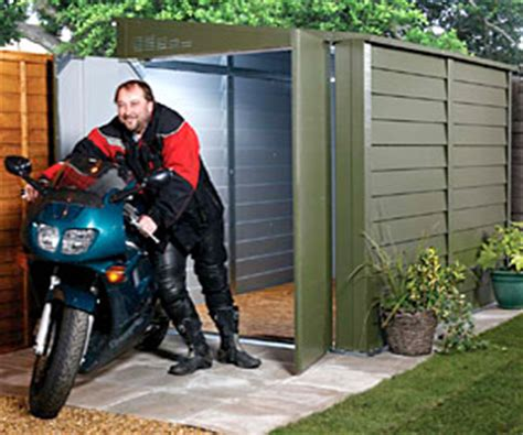 motorcycle garages motorbike storage mk containers