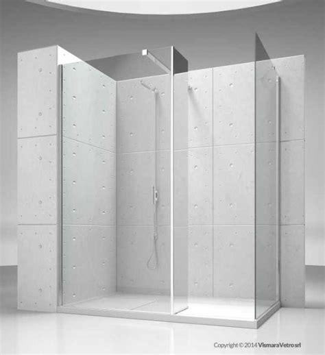 cabina doccia senza piatto doccia walk in