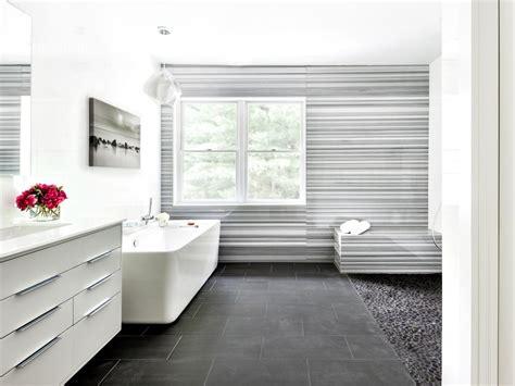Modern Bathroom Floors by Marble Bathrooms We Re Swooning Hgtv S Decorating