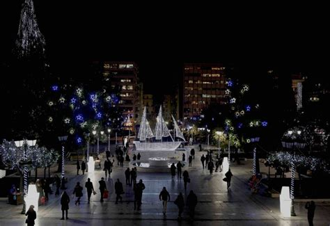 christmas decoration in greece the athens of don t think mysterious greece