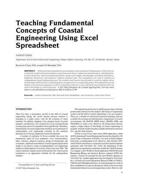 Spreadsheet Tools For Engineers Using Excel 2007 by Spreadsheet Tools For Engineers Using Excel 2007