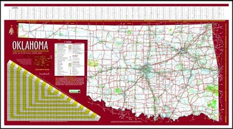 image gallery large oklahoma state map current oklahoma state highway map