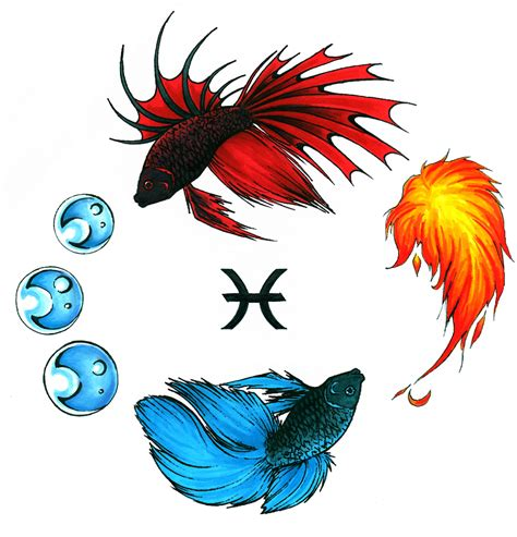 pisces tattoo designs pisces tattoos popular designs