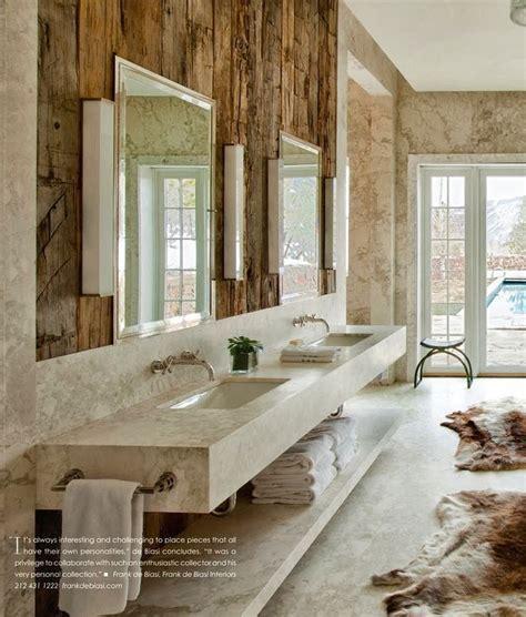 rustic contemporary bathroom rustic contemporary interior design on pinterest rustic