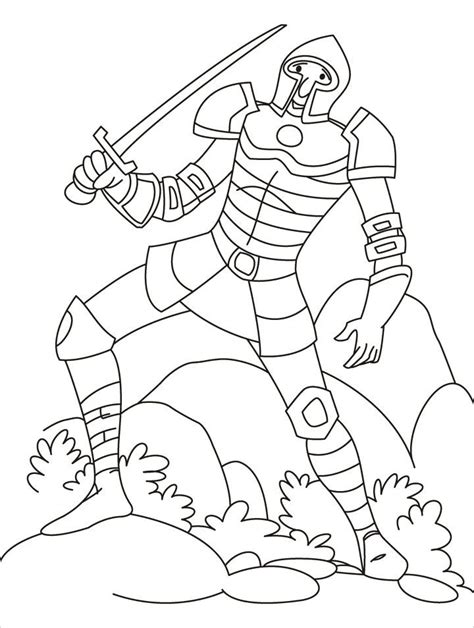coloring pages of fighting knights medieval knight coloring pages coloring home