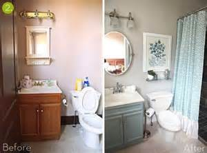 Bathroom Makeovers Ideas by Bathroom Makeovers Before And After Quick Amp Simple