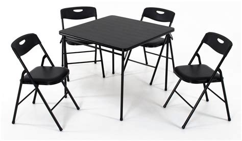 cosco 5 card table set card tables and chairs sets wooden card table sets and