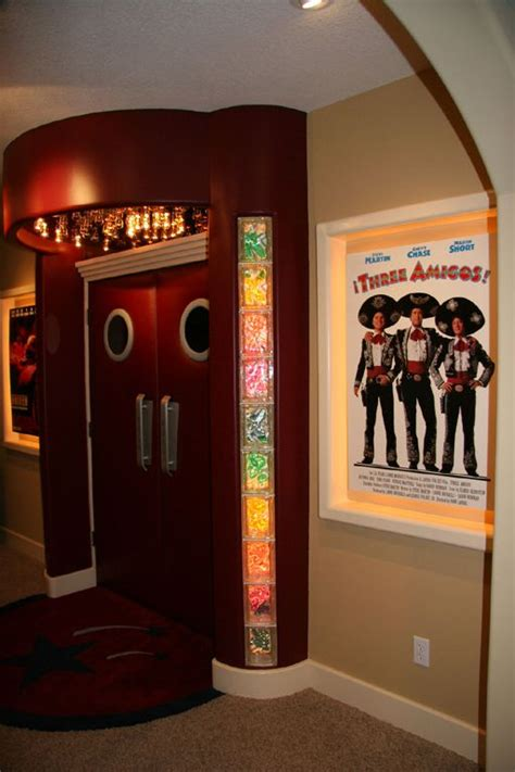 home theater padded doors home theater pinterest