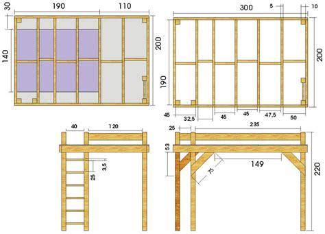 Plan Lit Mezzanine En Bois by Mezzanine Forum Menuiseries Int 233 Rieures Syst 232 Me D