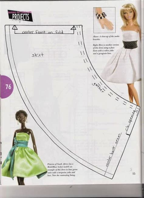 barbie doll clothes pattern template 25 best ideas about barbie sewing patterns on pinterest