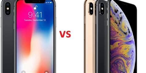 iphone x vs iphone xs specs comparison any reason to upgrade