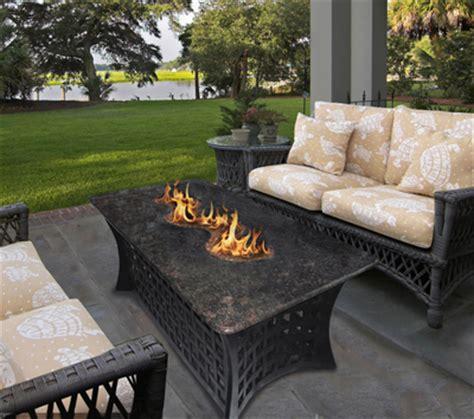 outdoor pit coffee table la costa