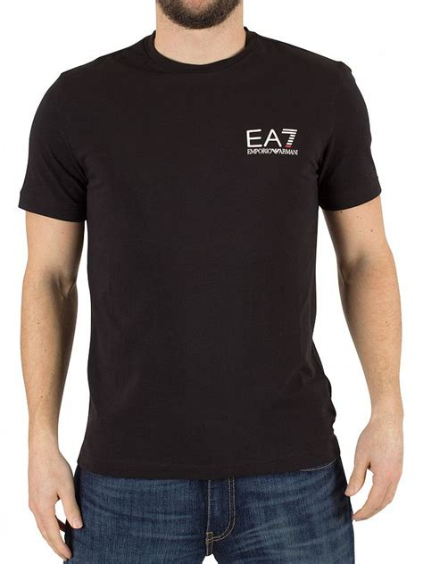 Tshirt Giorgio Armani Dealldo Merch emporio armani black ea7 logo t shirt stand out