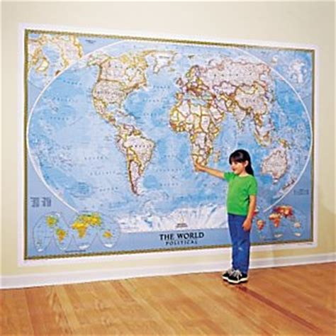 wall mural world map world map national geographic 110x76 wall mural current ebay