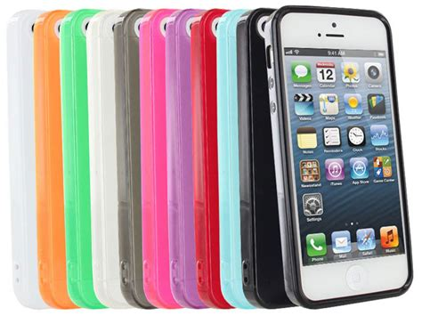 Softcase Glossy Iphone 55s deal of the day amzer soft gel tpu gloss skin for