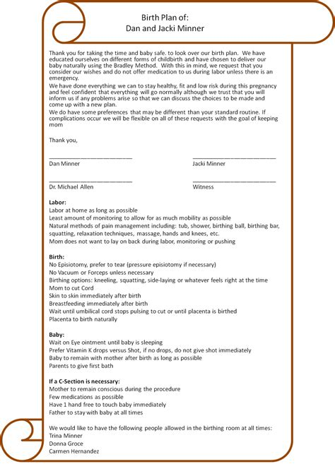 Free Printable Birth Plan Worksheet Download Templates Informationacquisition Com Birth Plan Template For Hospital Births