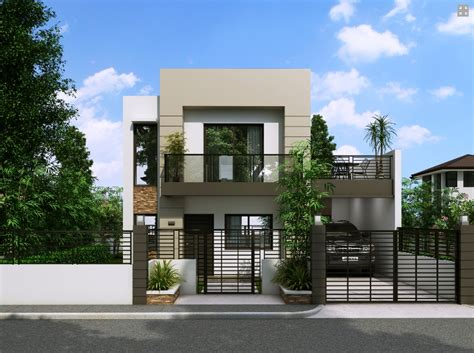 modern house blueprint elegant house with small balcony amazing architecture