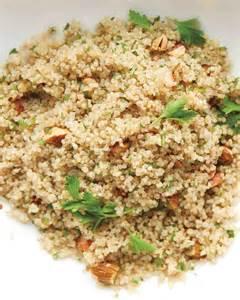 quinoa cuisine quinoa and almond pilaf recipe martha stewart