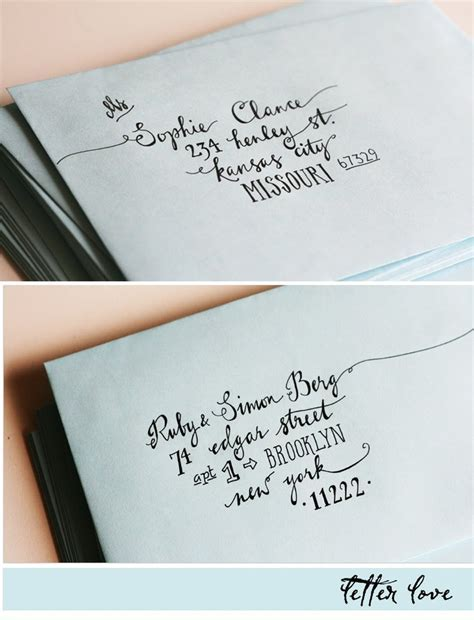25  best ideas about Cute envelope addressing on Pinterest