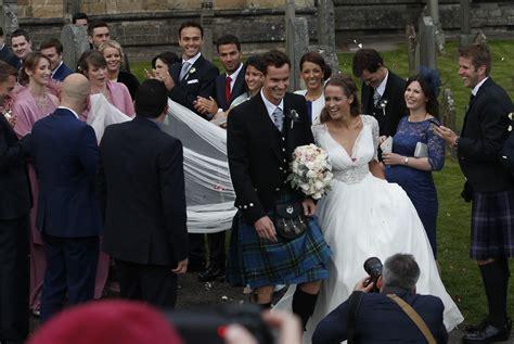 andy murray wedding andy murray marries girlfriend kim sears in royal wedding