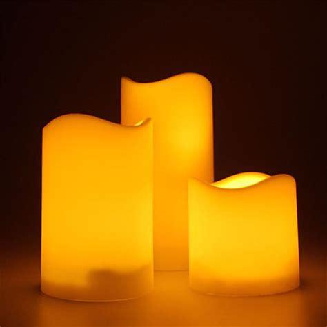 Dekoartikel Kerzen by 3er Set Led Kerzen F 252 R Au 223 En Mit Timer Elektrisch Im Led