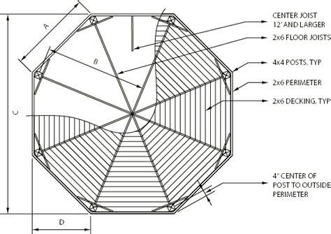 gazebo plans octagon gazebo floor plan diagram