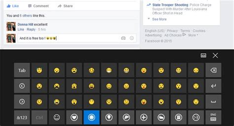 emoji on windows 10 how to use emojis from windows 10 touch keyboard