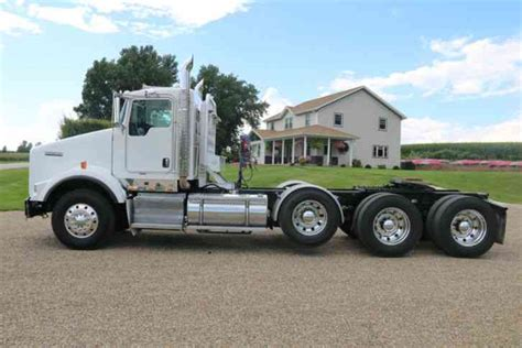 kenworth t800 heavy haul for sale kenworth t800 2008 daycab semi trucks