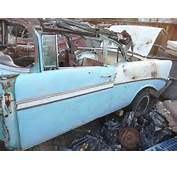 Purchase Used 1956 CHEVROLET BEL AIR CONVERTIBLE PROJECT