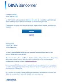 bancomer mx banca en linea alerta condusef a usuarios de banca en l 237 nea por correo