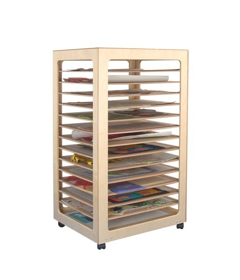 Classroom Drying Rack by Paper Storage Rack Classroom Direct