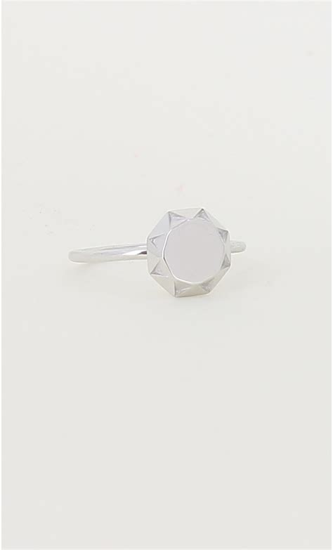 Origami Wedding Ring - origami silver quot quot ring mondefile