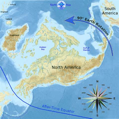 us navy map after the polar shift earth poleshift