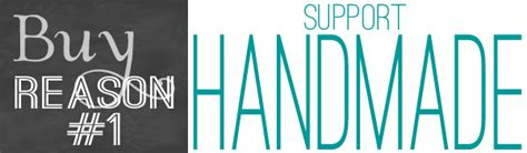 Buy Handmade - buy to support handmade teal and lime by jackie hernandez